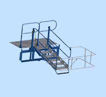 Folding Stairs and Platforms